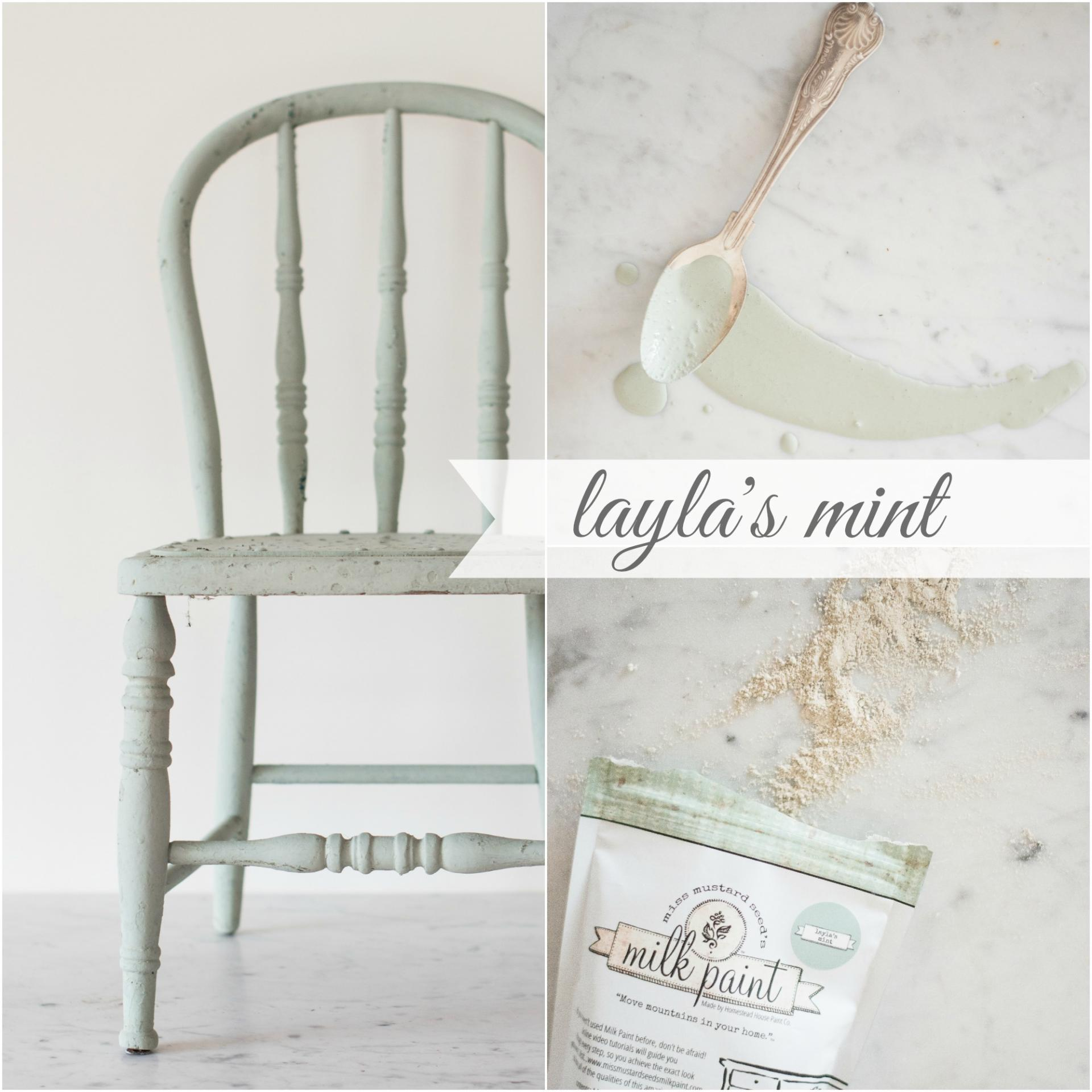 Laylas mint collage 1